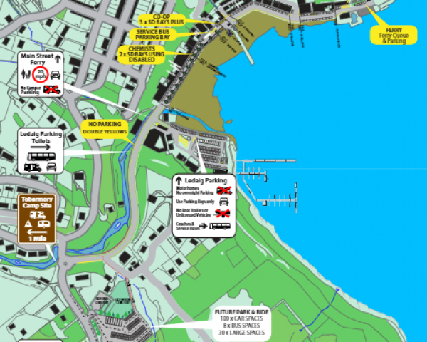 2021 MAP TOBERMORY TRAFFIC AND PEDESTRIAN MANAGEMENT